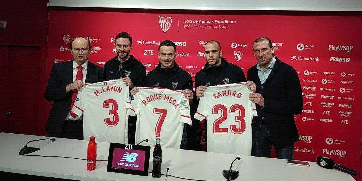 Miguel Layún es presentado oficialmente con el Sevilla