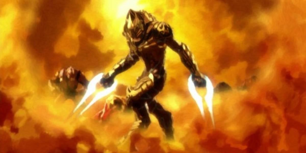 Mañana se estrena Halo Legends: The Duel