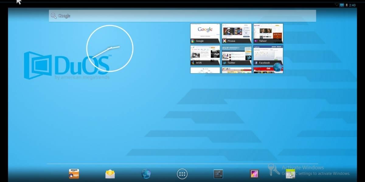 DuOS: El nuevo emulador Android para Windows