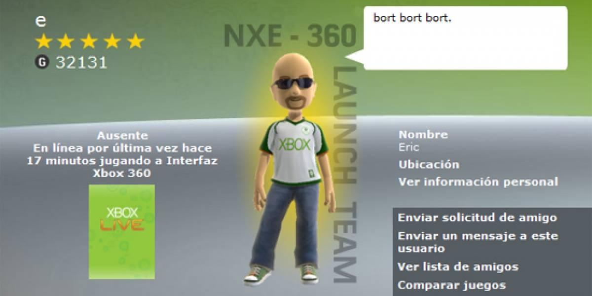 El primer Gamertag de Xbox Live en todo el mundo