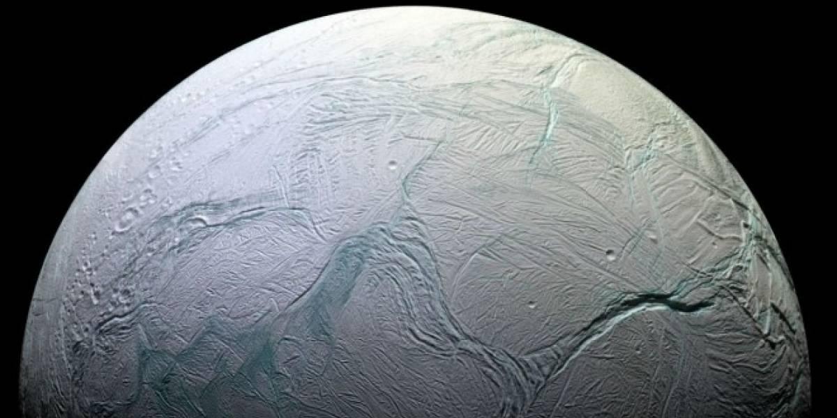 Descubren océano oculto en una de las lunas de Saturno