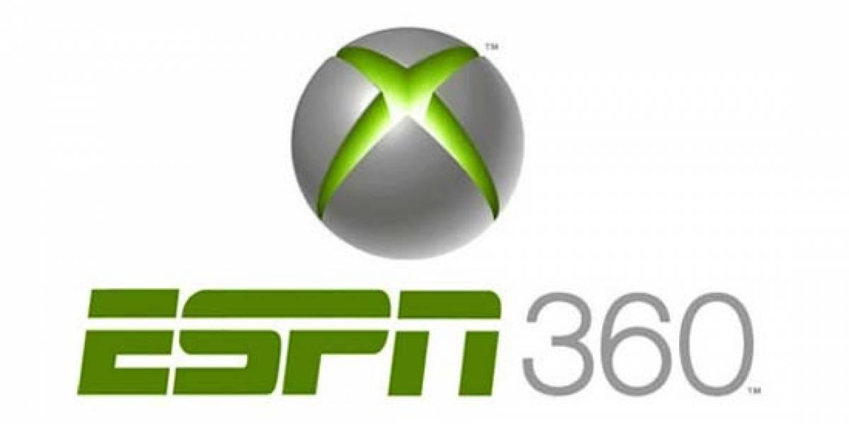 Futurología: ESPN transmitirá deportes a través de Xbox 360