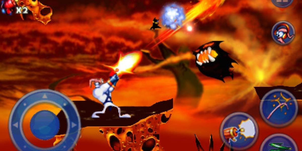Earthworm Jim ya está disponible para iPhone y iPod Touch