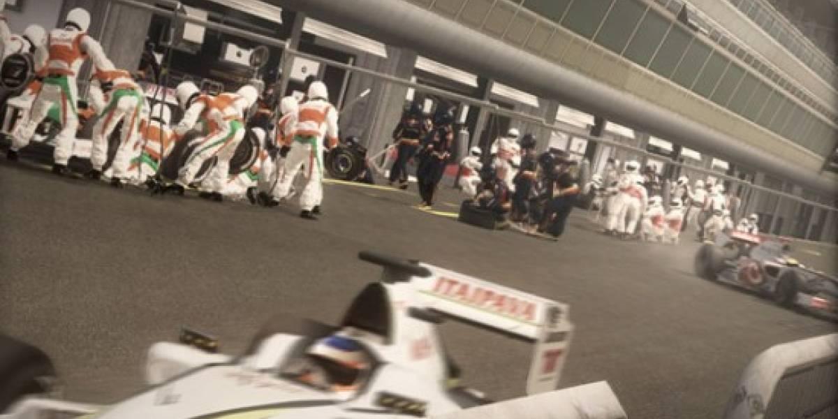Un choque en cámara lenta en F1 2010 [gamescom 2010]