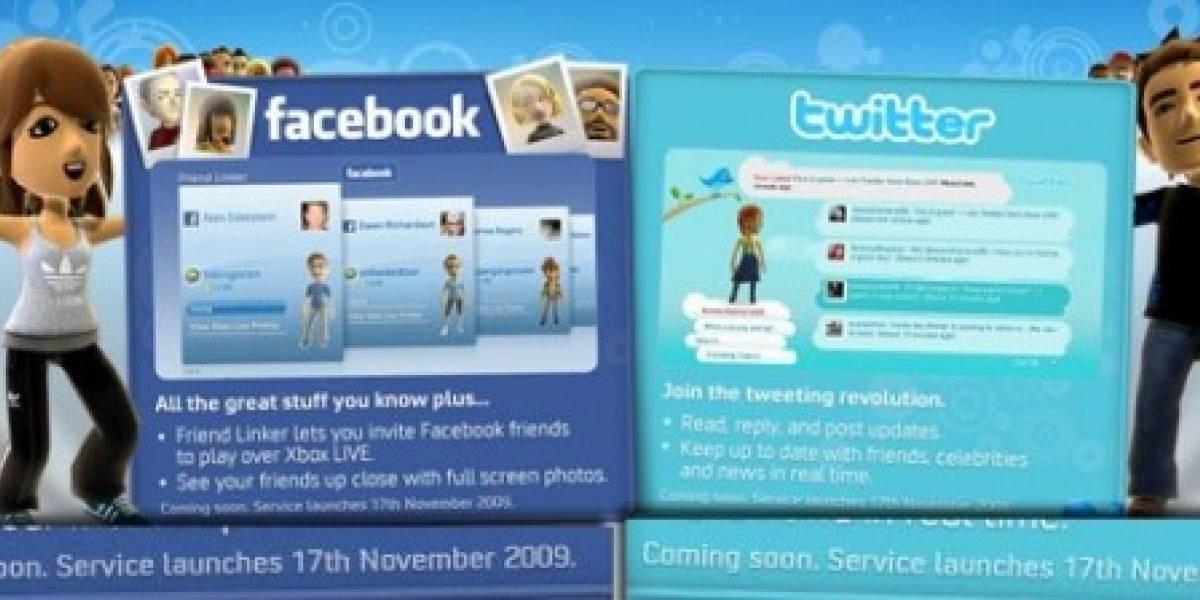 Futurología: Twitter y Facebook en 360, desde el 17 de noviembre