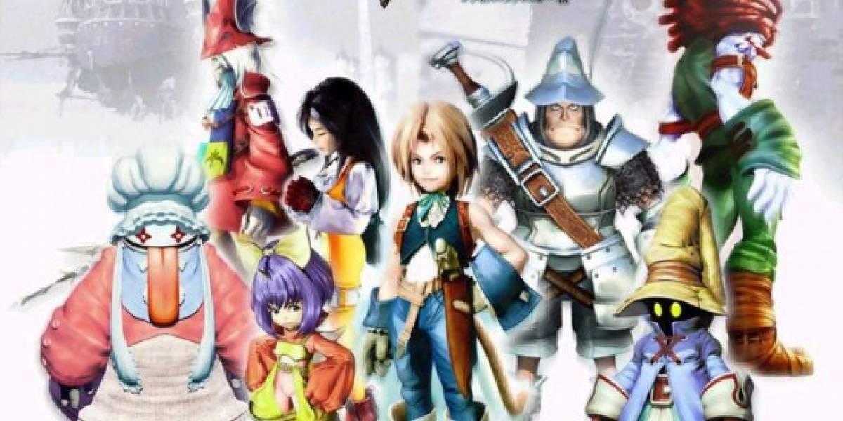 Confirmado, Final Fantasy IX llegará a PSN
