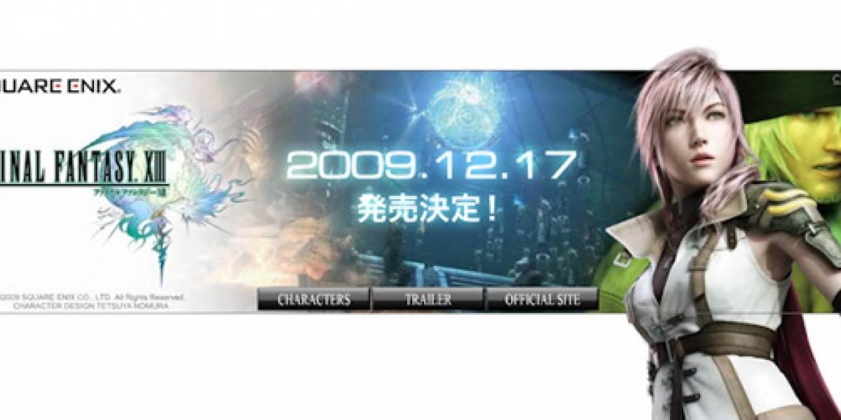 Futurología: Banner publicitario revela la fecha de salida de Final Fantasy XIII