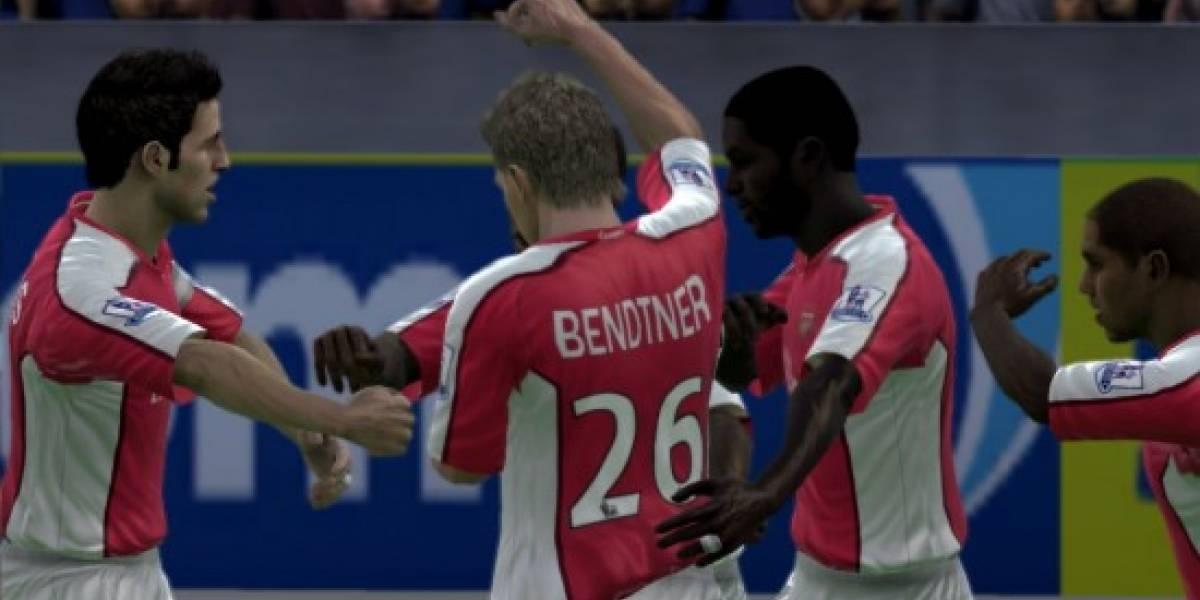 Algunas imágenes de FIFA 09 para PC