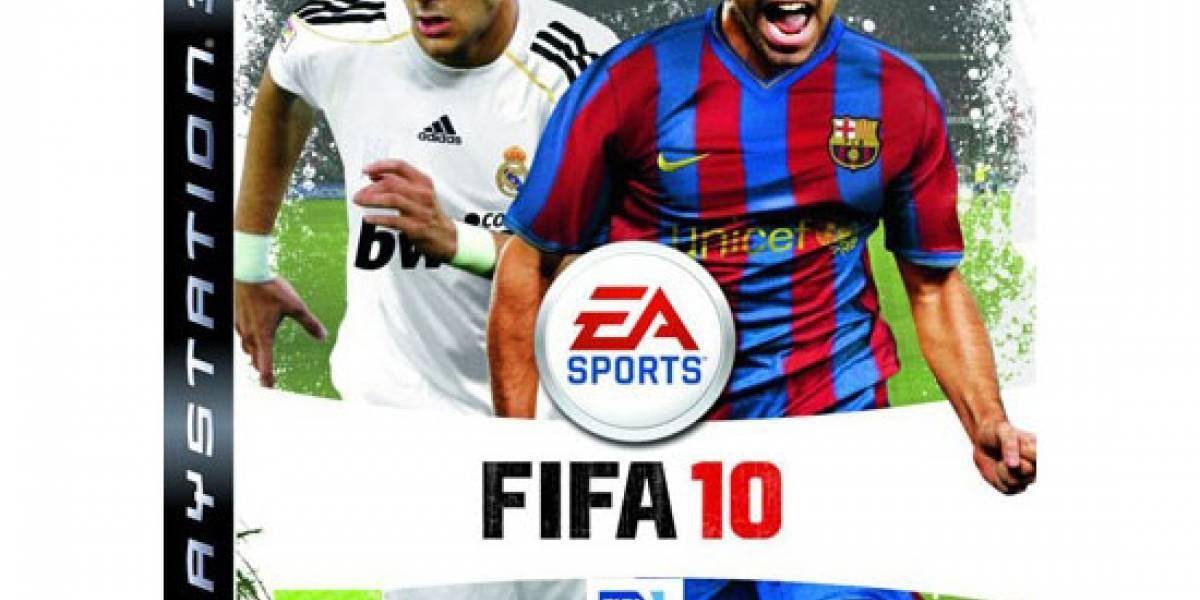 EA revela las portadas para FIFA 10