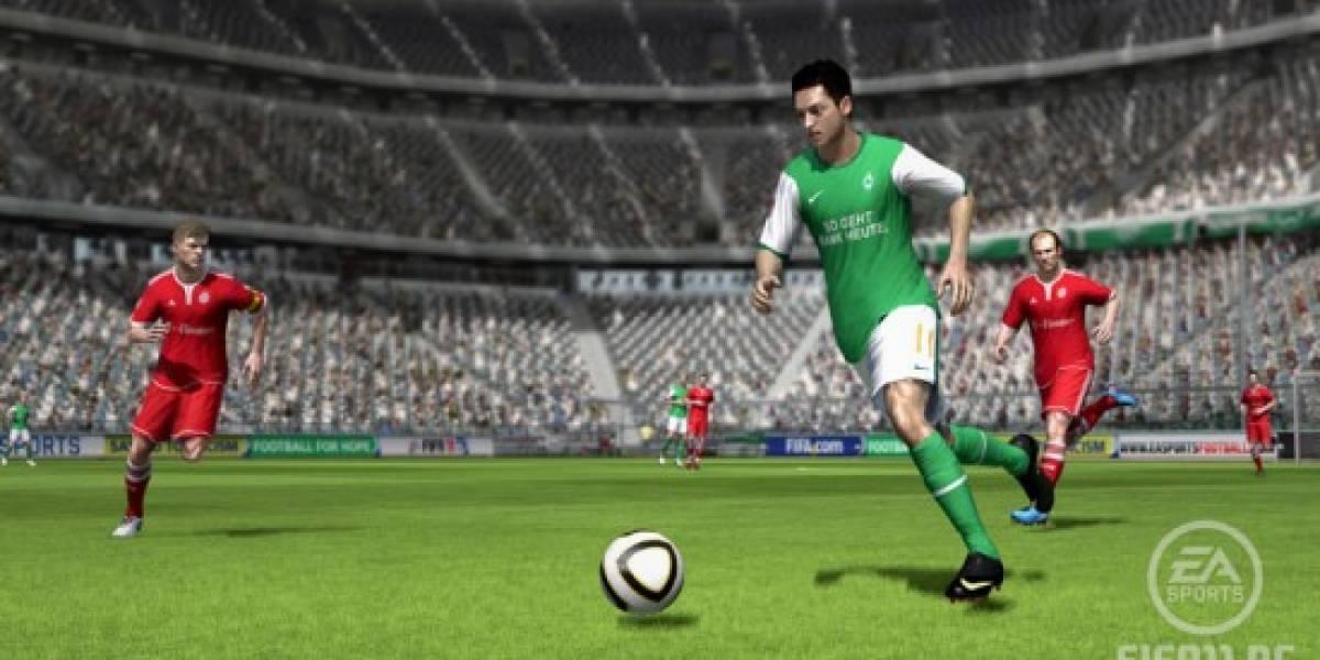 Por fin: FIFA 11 en PC, con la tecnología de las consolas