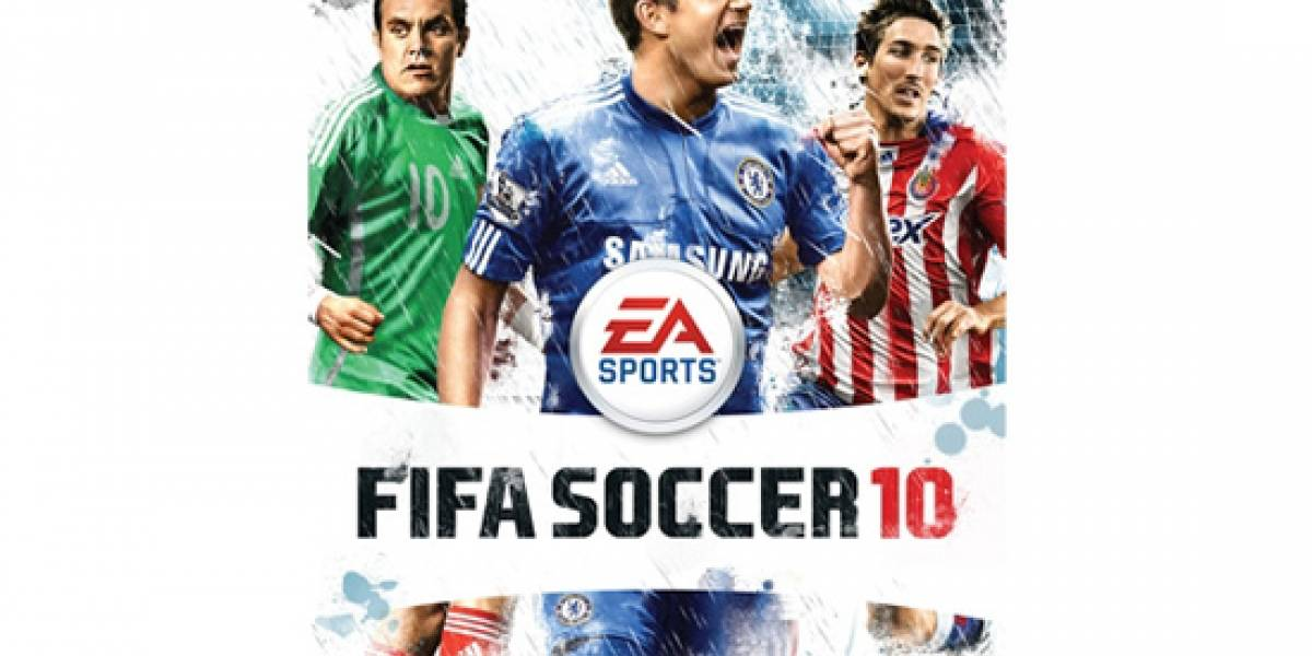 Cuauhtémoc Blanco en la portada de FIFA 10