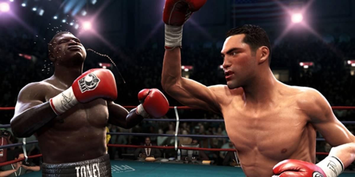 Oscar De La Hoya llegará a Fight Night Round 4