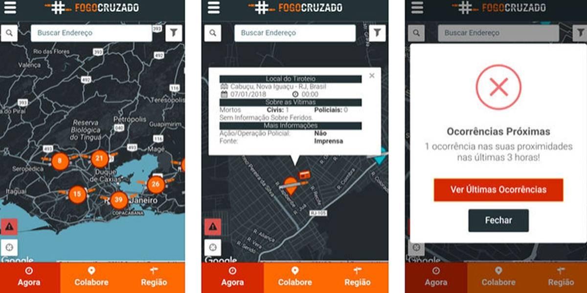 Aplicativo que mapeia tiroteios no Rio registra recorde em janeiro