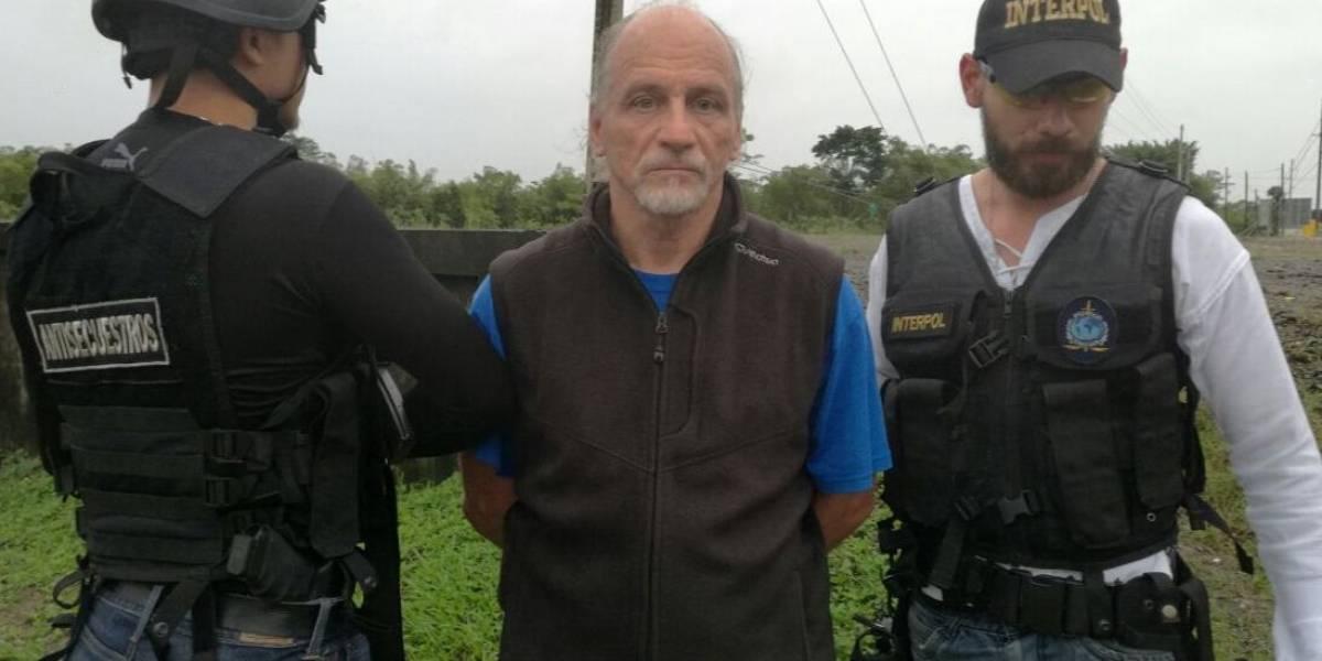 Capturan en Guatemala a francés requerido en extradición por narcotráfico