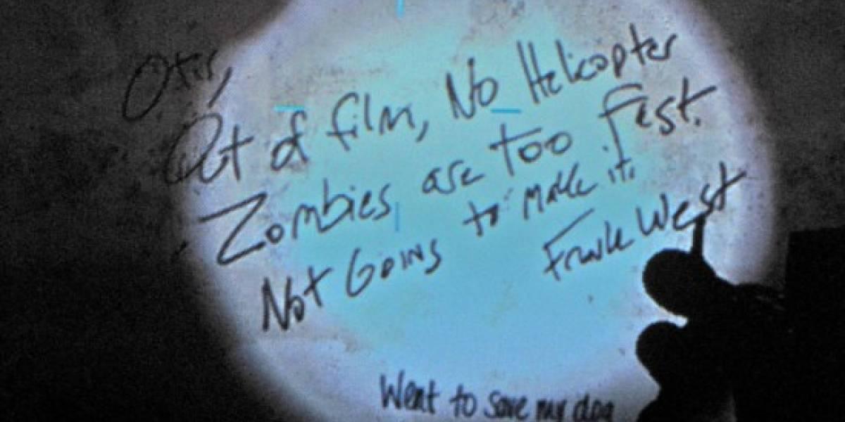 El mensaje de Frank West en The Passing, el DLC de Left 4 Dead 2