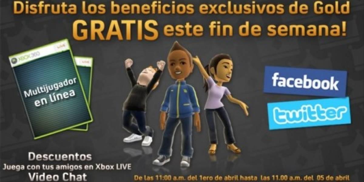 Xbox México anuncia fin de semana de Xbox Live gratuito