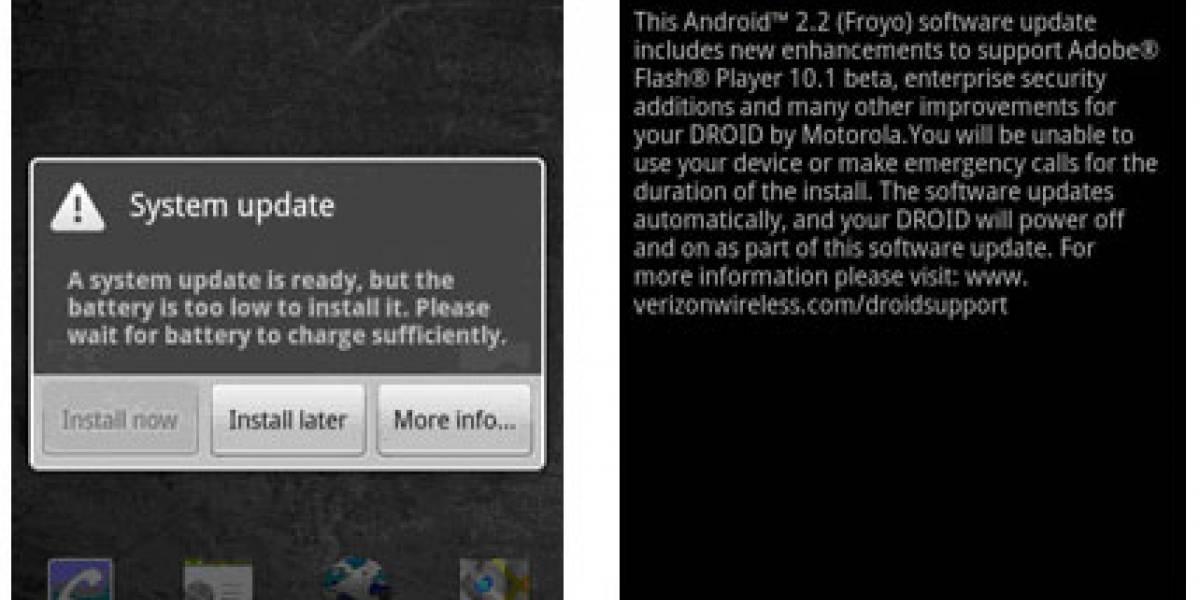 Froyo llegará esta semana al Motorola Droid