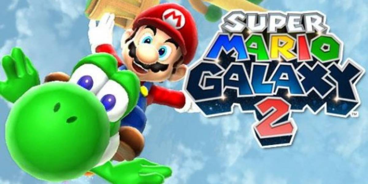 Sitio oficial de Mario Galaxy 2 revela algunos detalles y modo de 2 jugadores