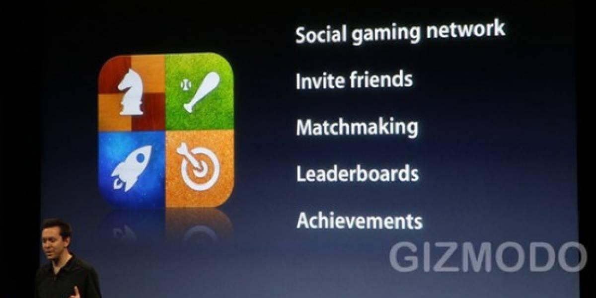 Game Center de iOS llegará en la versión 4.1