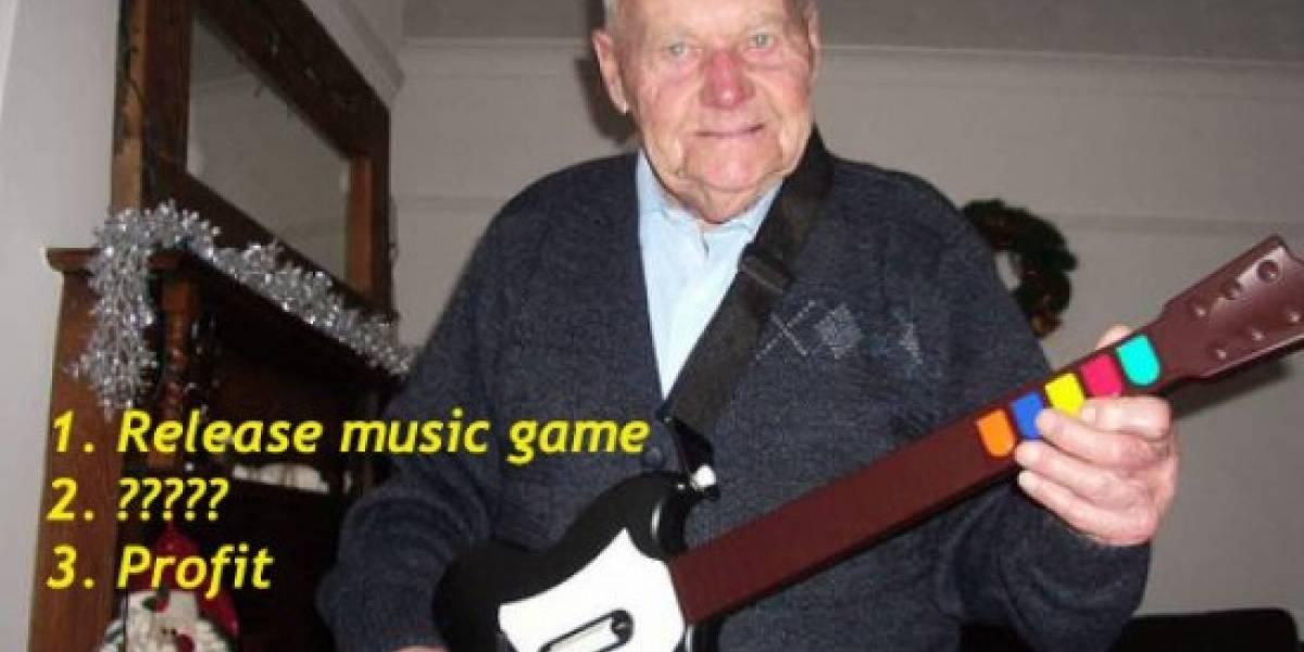 La burbuja de los juegos musicales: habrá más Rock Band para este año