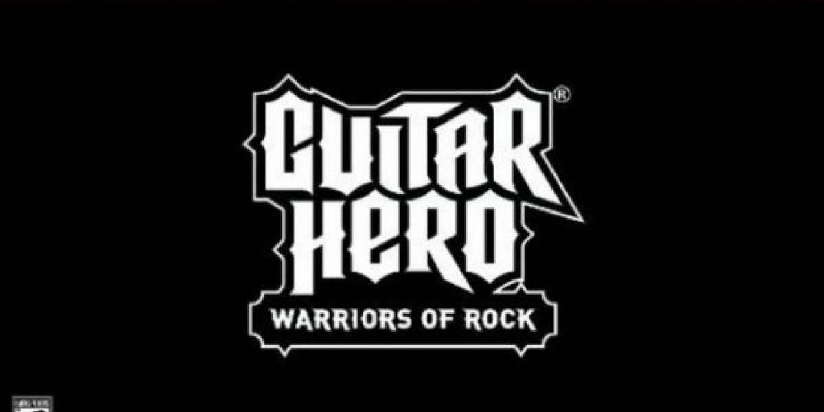 Guitar Hero: Warriors of Rock llega el 21 de Septiembre, según Amazon