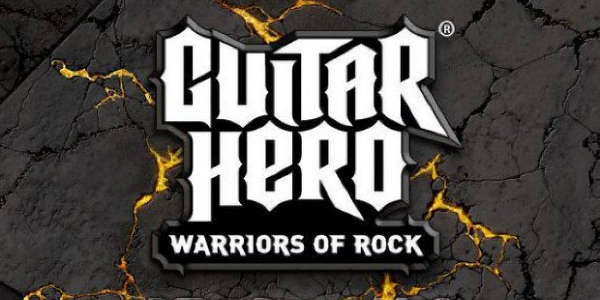 Estas son las canciones de Guitar Hero: Warriors of Rock