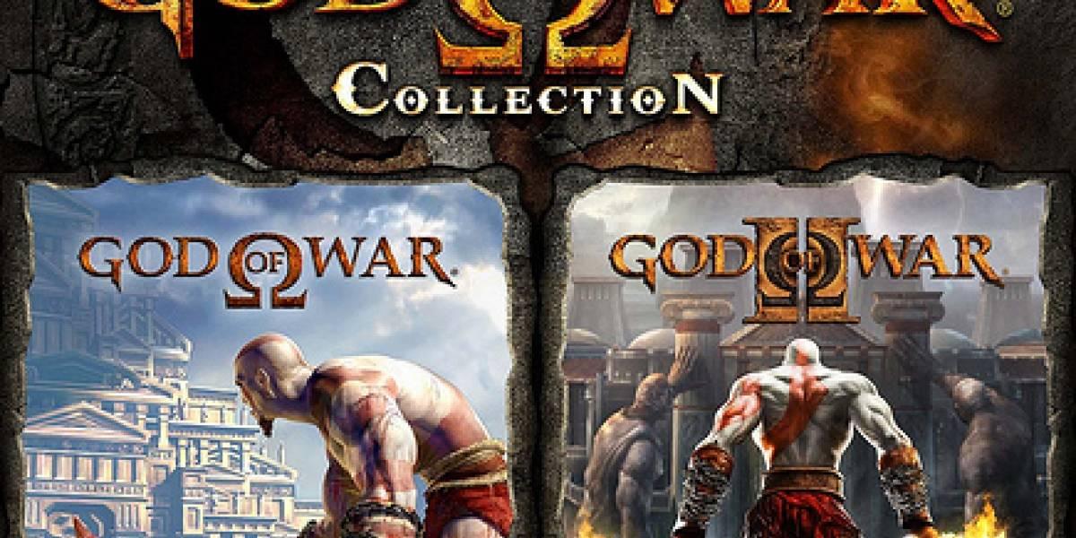God of War Collection a la venta el 17 de Noviembre