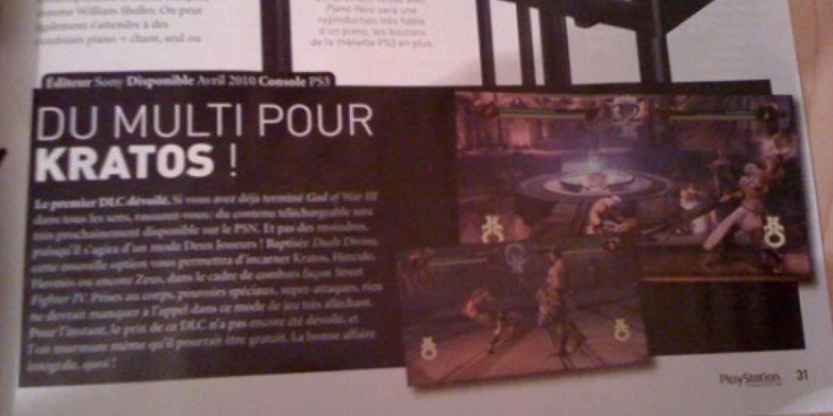 Futurología: Multiplayer para God of War III [Actualizado]