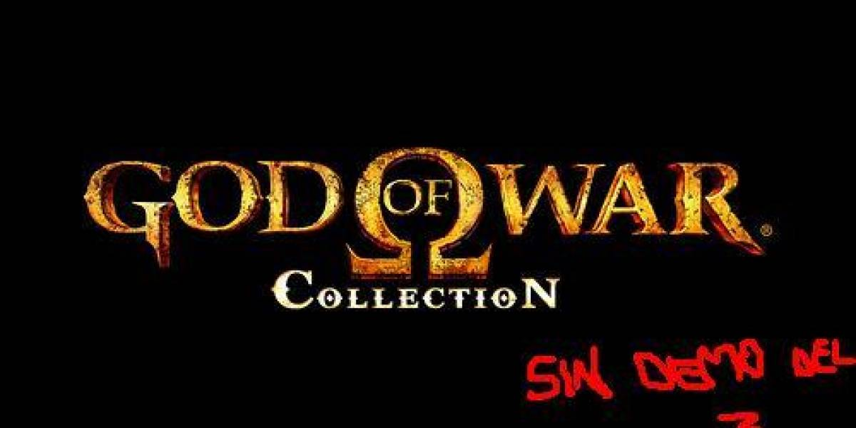 God of War Collection sin demo de God of War III por ahora