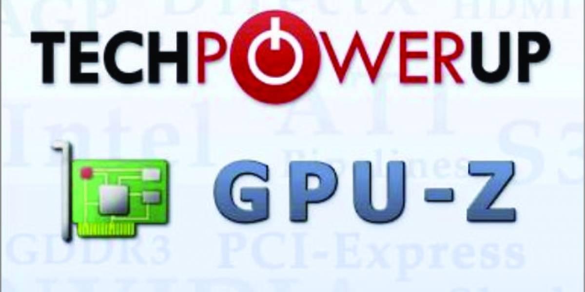 TechPowerUp lanza su utilidad GPU-Z 0.8.0