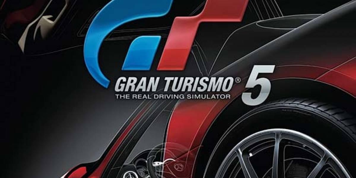 Esta es la portada de Gran Turismo 5