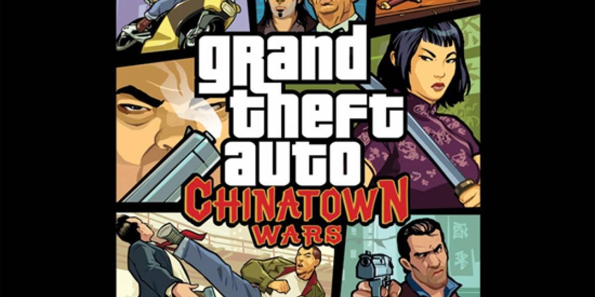 Grand Theft Auto: Chinatown Wars también llegará al iPhone