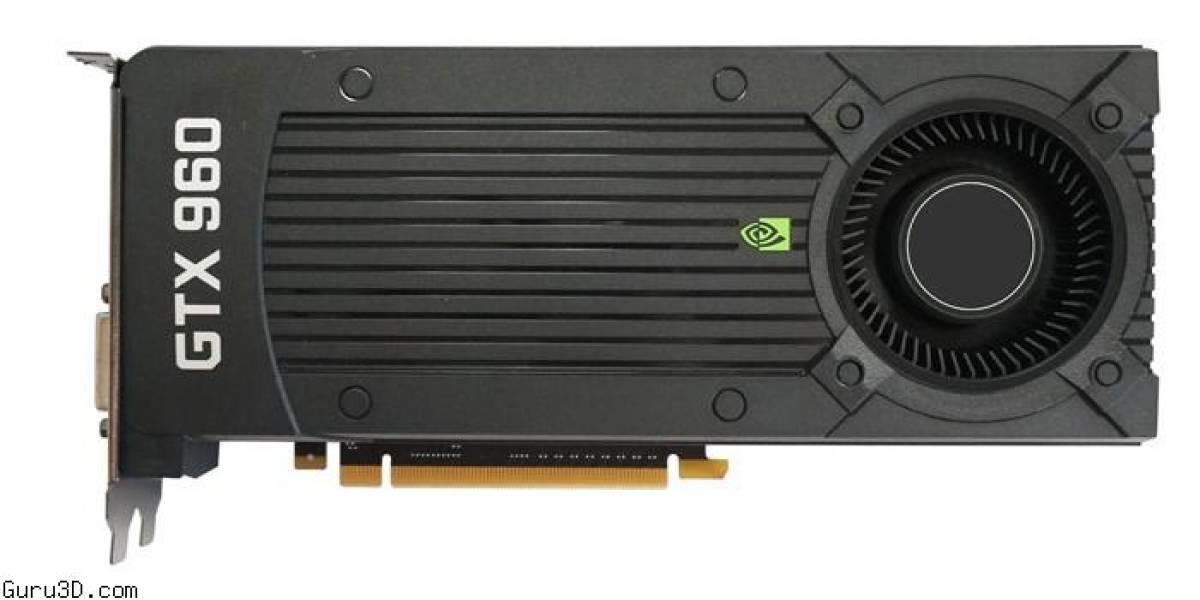 """GeForce GTX 960 """"GM206"""" llegará el 22 de enero"""