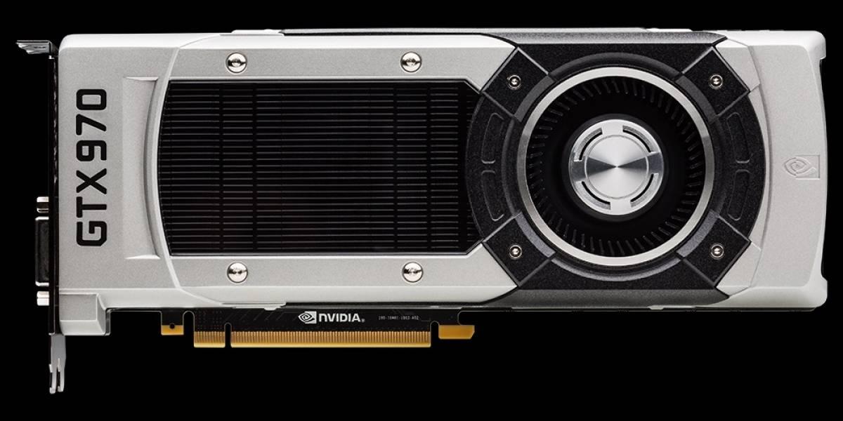 GPU Nvidia GeForce GTX 970: Especificaciones actualizadas