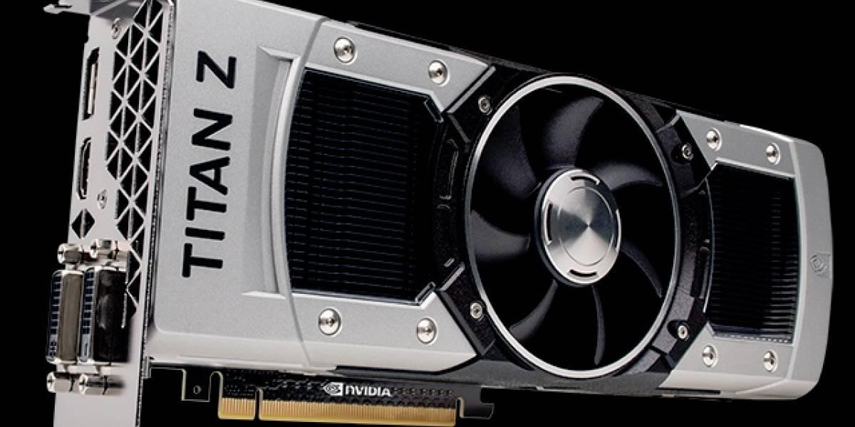 """NVIDIA GeForce GTX Titan Z """"Dual-GK110B"""" estrena nuevo precio: USD$ 1499.99"""