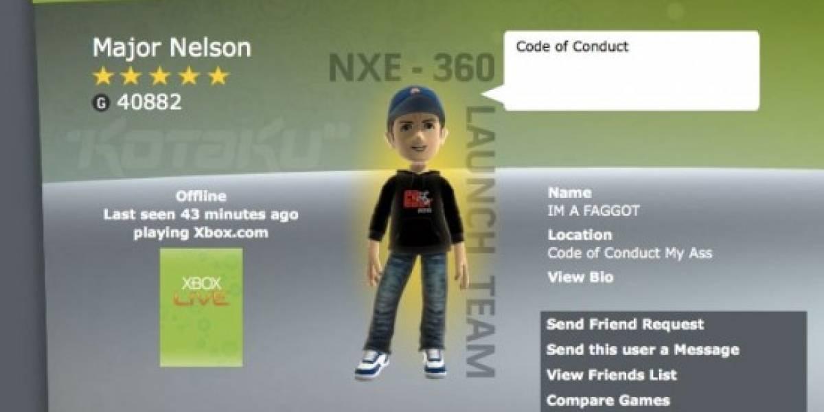 Hackean la cuenta de Xbox Live del Major Nelson