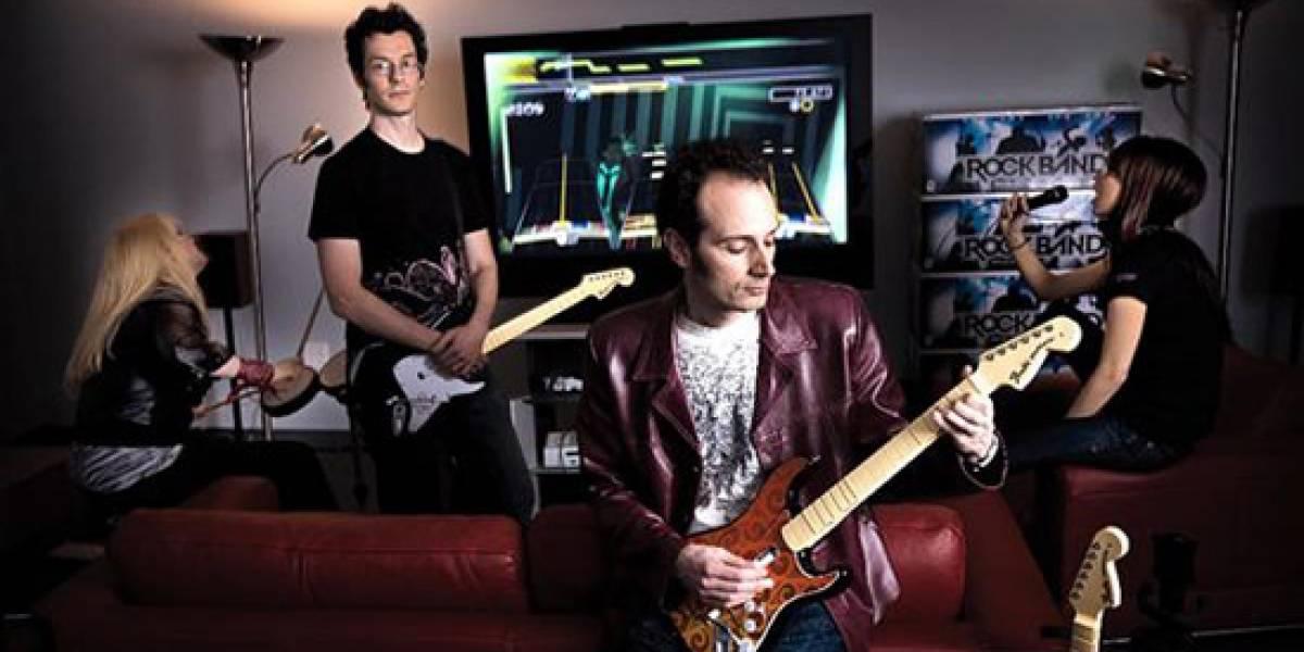 Harmonix se encuentra trabajando en Rock Band 3