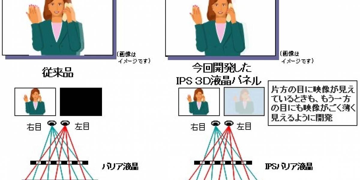 Esta pantalla de Hitachi podría usar la Nintendo 3DS