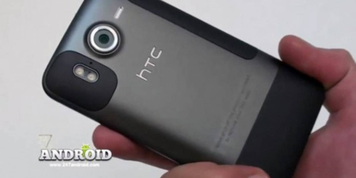 El primer video del HTC Desire HD