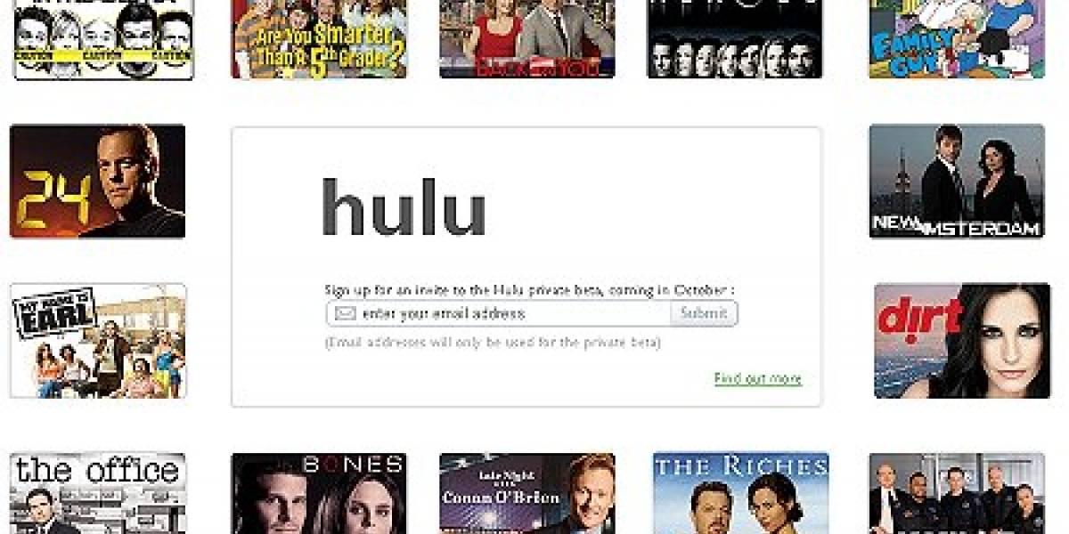 Hulu Plus en la PSN+ tiene menos catálogo que la versión web gratuita