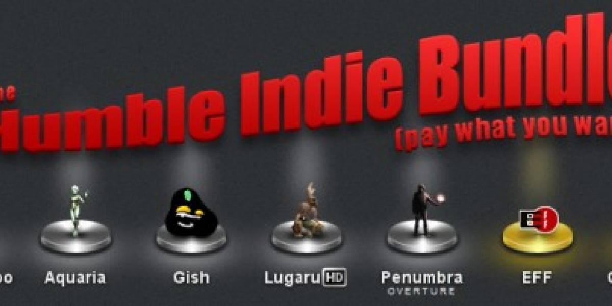 Cinco juegos indie por el precio que quieras