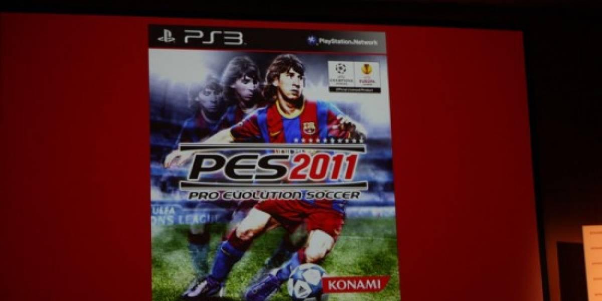 Konami habla de PES 2011 y de la competencia