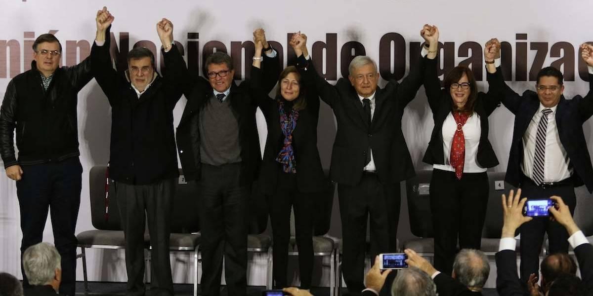Ebrard, Scherer, Monreal, Luján y Salazar, los 'cazamapaches' de AMLO