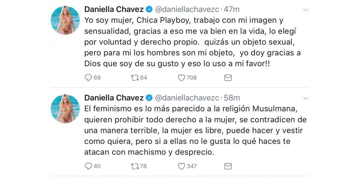 Twitter Daniella Chávez