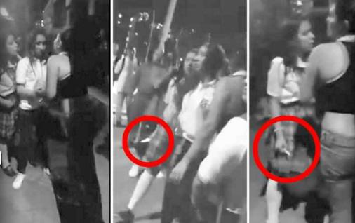 Publican Página en Facebook con el nombre de menor responsable de agredir a una compañera en Medellín