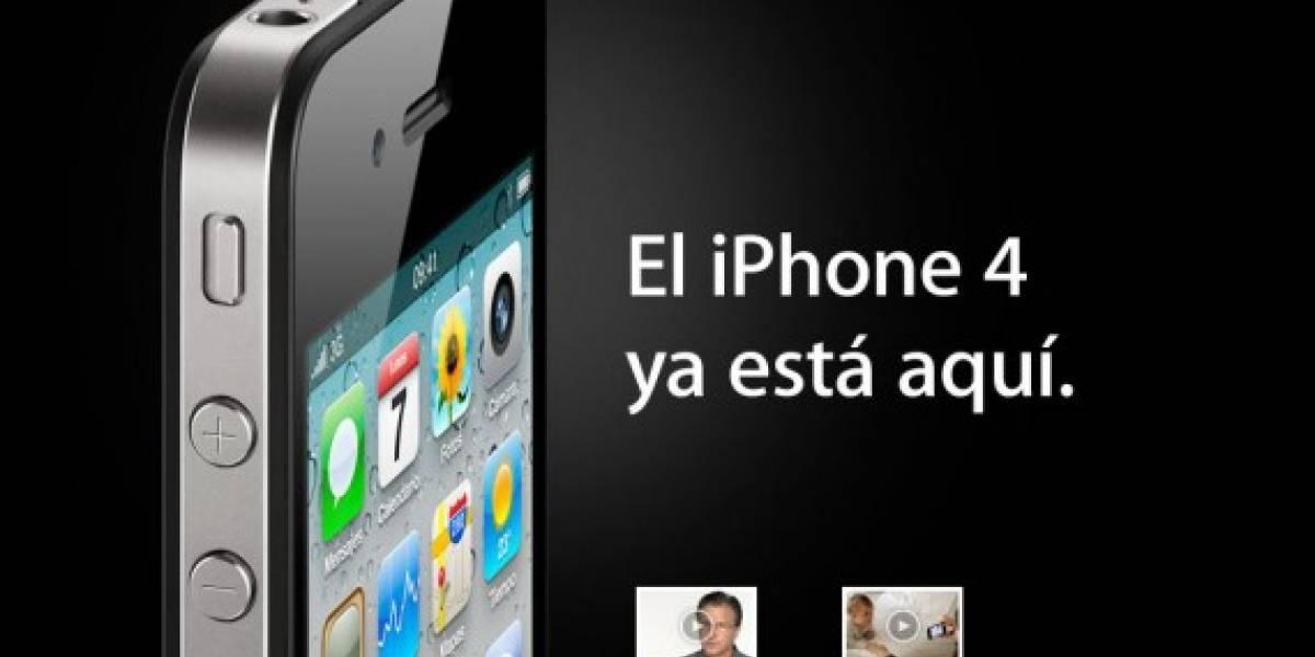 Largas filas acompañan el lanzamiento del iPhone 4 en España