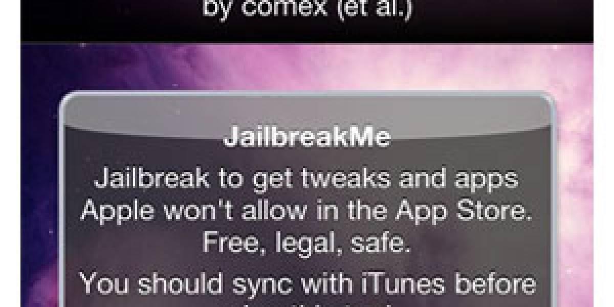 Apple termina con el jailbreak por medio de JailbreakMe