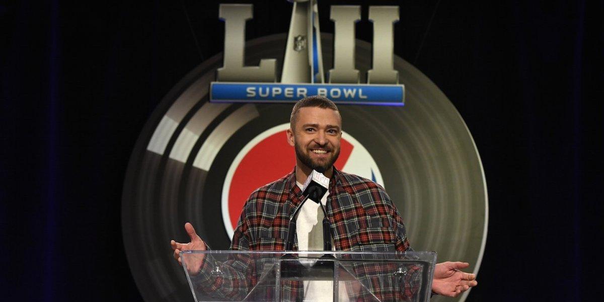 Justin Timberlake será la gran estrella del Halftime Show del Super Bowl