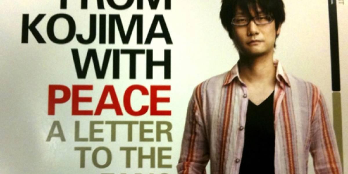 Kojima dice que tardarás cientos de horas en terminar MGS: Peace Walker
