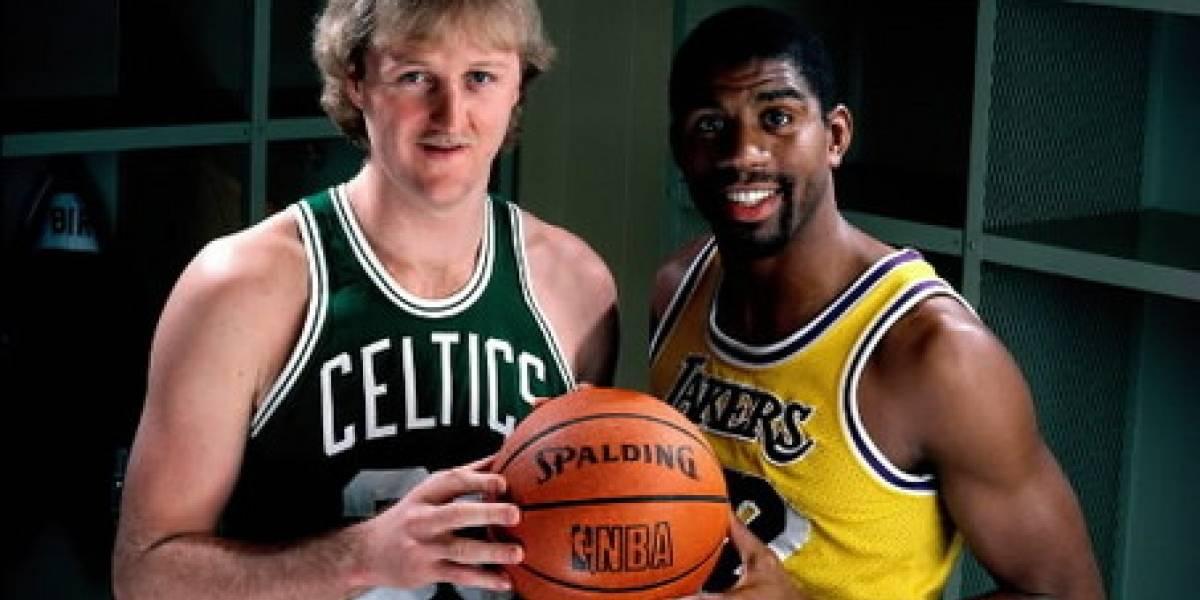 Los jefes finales del nuevo NBA Jam: Larry Bird y Magic Johnson